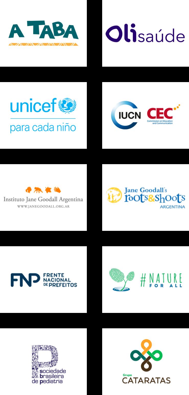 logotipos de socios que forman parte de Impact Network